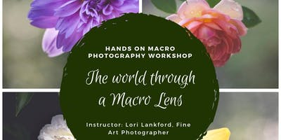 The Beauty of Macro Photography; Hands on (workshop) March