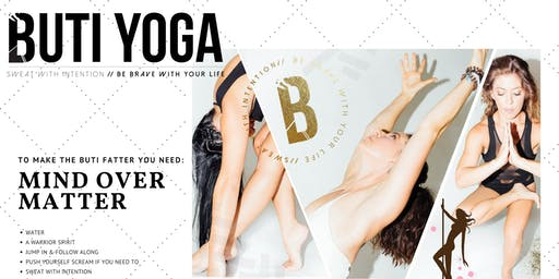 Try a BUTI YOGA CLASS