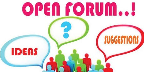 Open Forum July tickets