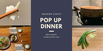 [End of Lunar Year Celebration]Modern Canto Pop Up Dinner+A View of the Bay