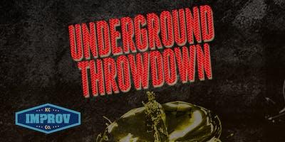 1|19 | 8:00 P.M. Underground Throwdown!