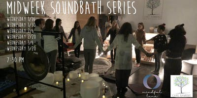 Midweek Soundbath Series with Maria Luna at Caro Bambino