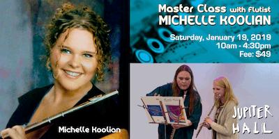 2018 Flute Master Class with Flutist Michelle Koolian