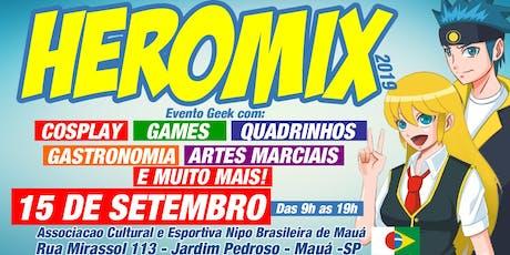 Heromix 2019 ingressos