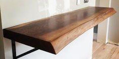 Wptl Classes Raw Edge Wood Shelf Carpentry Philadelphia