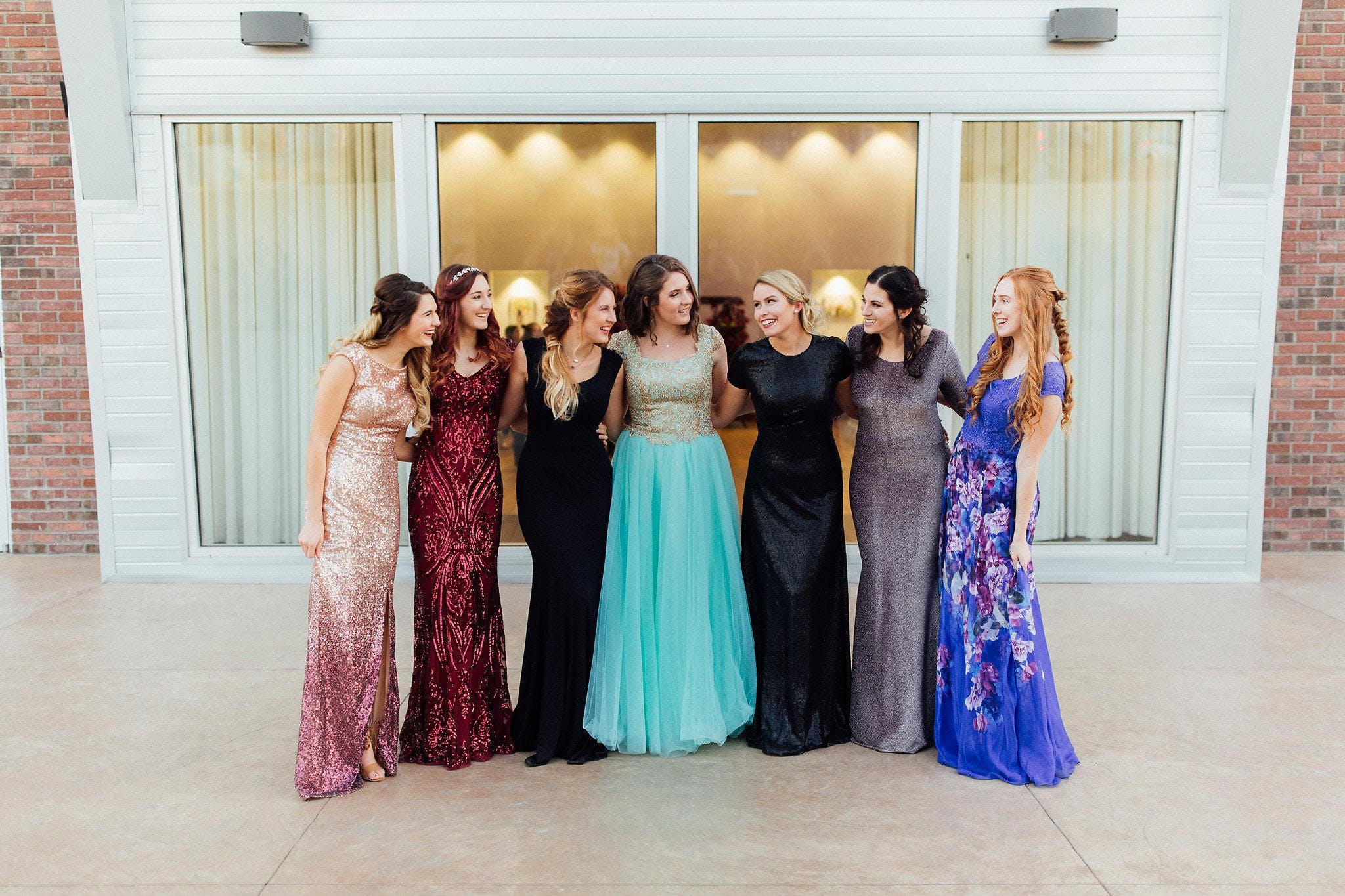 Modest Formal and Prom Dress Fashion Show