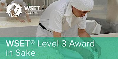WSET Level 3 Award in Sake @ VSF Wine Education x