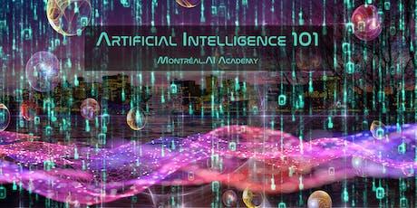 Montréal.AI Academy: AI 101 billets