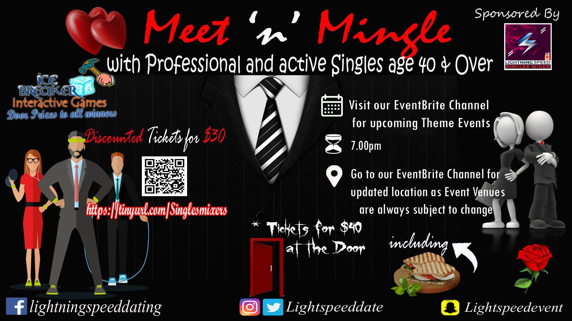 how to host a singles mixer