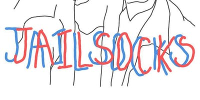 JAIL SOCKS w/ ORIGAMI ANGEL, COMMANDER SALAMANDER & DOLLHANDS at Milestone