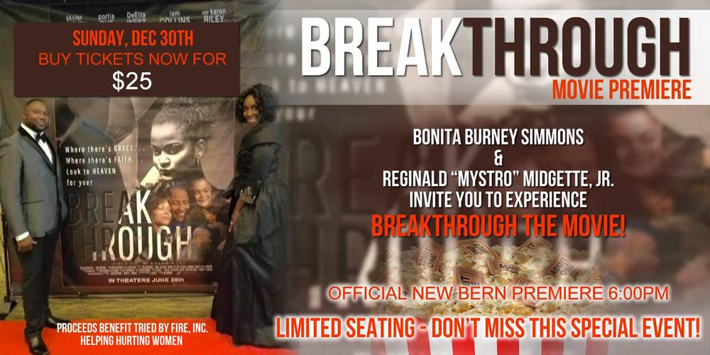 Breakthrough Movie Premiere Sold Out Tgbtg Tickets Multiple Dates