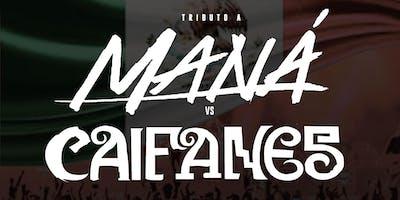 Tributo A Maná vs Caifanes   Noche De Rock En Español with Cover Band