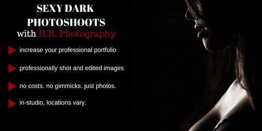 Dark Lingerie Modeling in South Florida