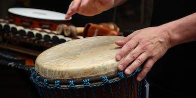 January Full Moon MLK Drum Circle: Drumming for Peace