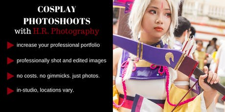 Casting Models for Cosplay Photoshoots with H.R. Photography tickets