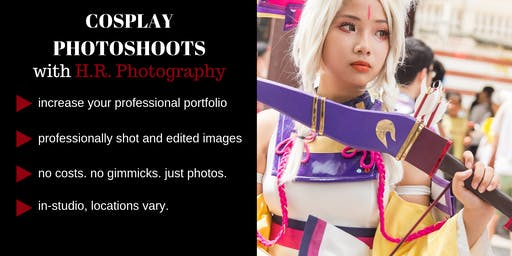 Casting Models for Cosplay Photoshoots with H.R. Photography