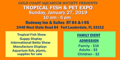 Tropical Fish and Pet Expo 2019