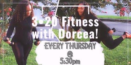 3-Twenty Fitness with Dorcea (Cardio, Strength & Tone)  tickets
