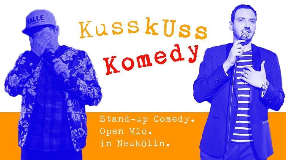 KussKuss Komedy am 16. Januar