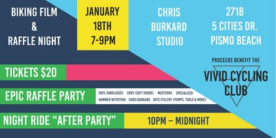 Cycling Film & Gear Raffle Night @ the Chris Burkard Studio + Night Ride