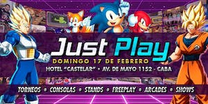 Just Play - Retro Summer / Evento Gaming!