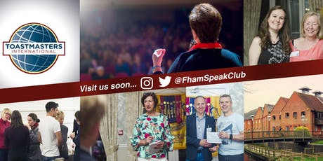 Farnham Speakers Club Toastmasters tickets