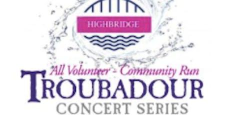 Troubadour Concert Series SEASON PASS tickets