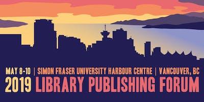 Library Publishing Forum 2019