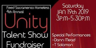 Feed Sacramento Homeless' 4th Annual Unity Talent Show Fundraiser