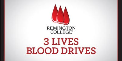 Minority blood donors needed for 3 Lives Blood Drive at Remington College Cleveland Campus
