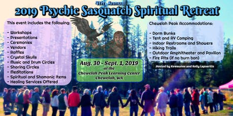 2019 Psychic Sasquatch Spiritual Retreat tickets