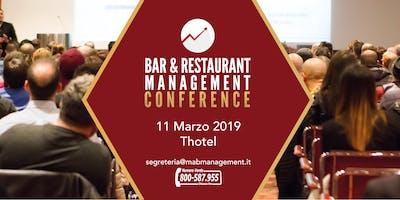 BAR & RESTAURANT MANAGEMENT Conference