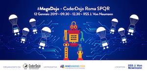 #MegaDojo 2019 @CoderDojo Roma SPQR