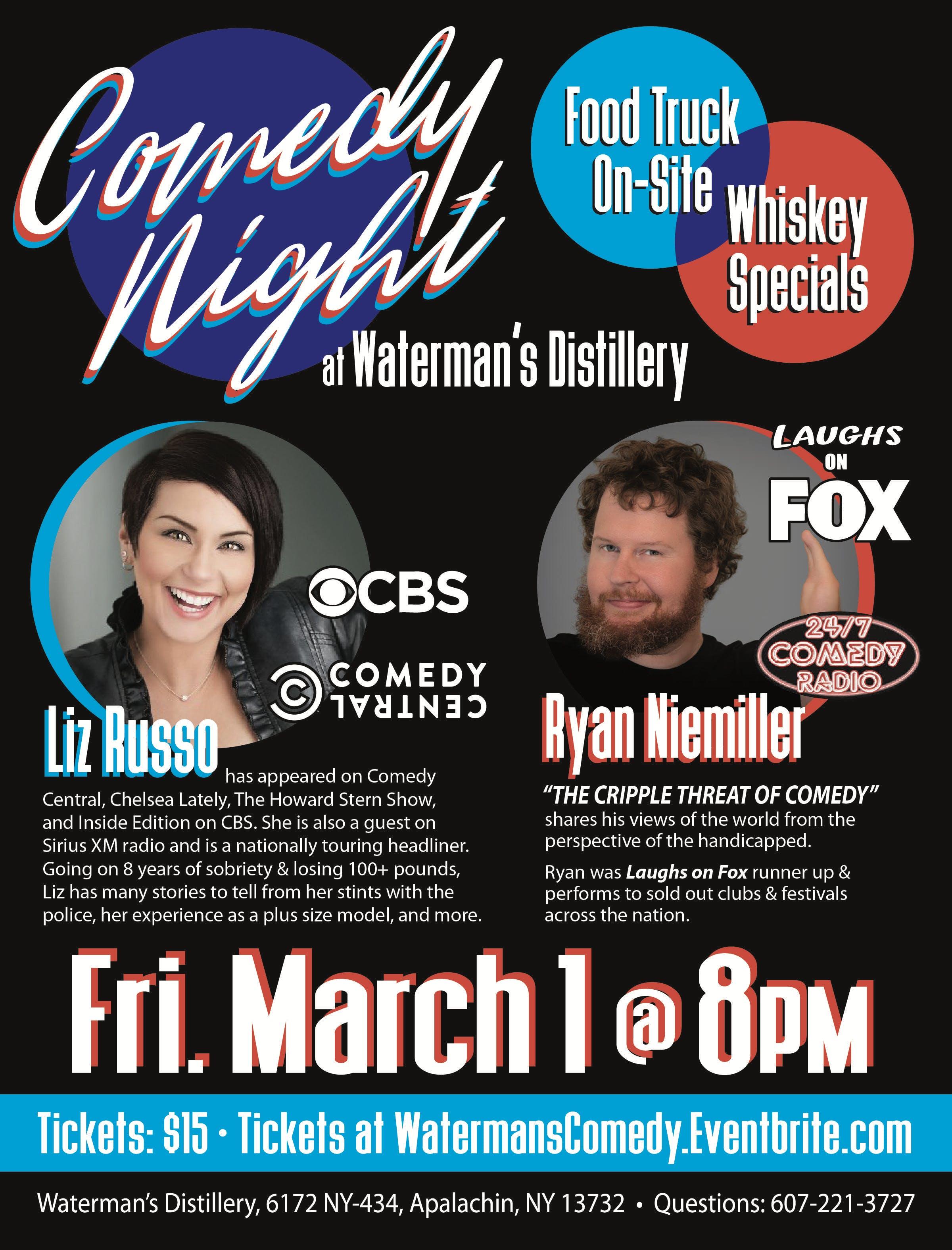 Waterman's Comedy Night