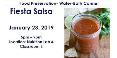Food Preservation- Fiesta Salsa