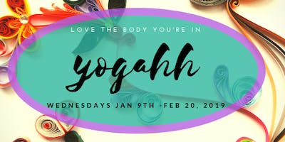 Yogahh for beginners Jan 9th - March 6th