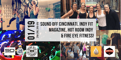 Sound Off, Indy Fit Magazine, Indy Hot Room, Metazoa Brewery & Fire Eye!