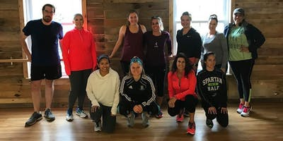 Run to the Barre: Timonium Winter Warrior Workout