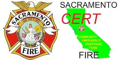 Sacramento CERT Fall Academy 2019 (Class 2019-01)