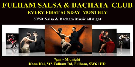 Fulham Salsa & Bachata Club every First Sunday tickets