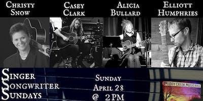 Christy Snow/Casey Clark/Alicia Bullard/Elliott Humphries