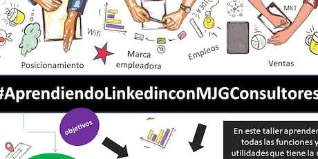 #AprendiendoLinkedinconMJGConsultores #Baires entradas