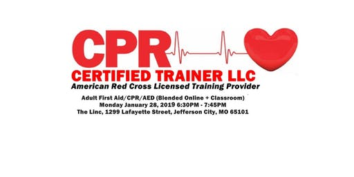 Adult First Aid / CPR / AED Certification Class
