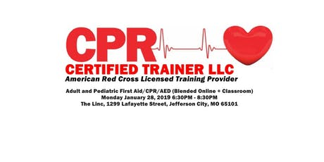 Adult CPR/AED tickets