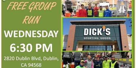 Dublin, CA: Trivalley Running Club Group Run at Dick's Sporting Goods tickets
