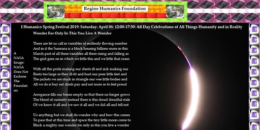 I Humanics Spring Festival 2020