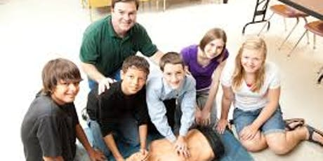 CPR AED and First Aid for Youth tickets