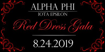 2019 Red Dress Gala - Alpha Phi Iota Epsilon