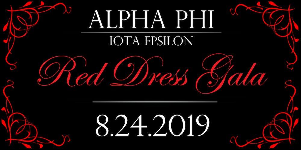 d80beb60da3 2019 Red Dress Gala - Alpha Phi Iota Epsilon Tickets