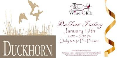 Duckhorn Wine Tasting - January 19th